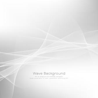 Disegno astratto sfondo grigio onda
