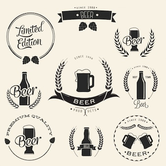 Disegno birra logo