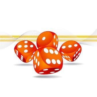 Disegno casino sfondo