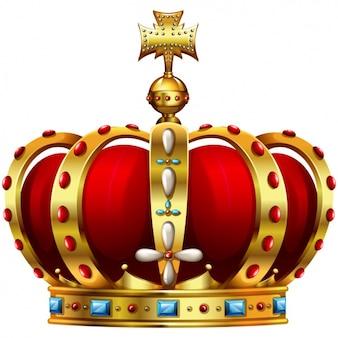 Disegno corona colorata