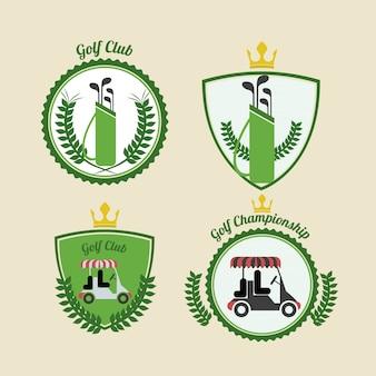 Disegno del golf