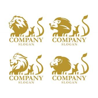 Disegno del leone logo