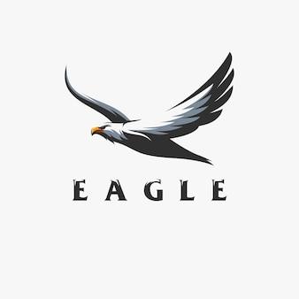Disegno del logo dell'aquila