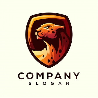 Disegno del logo ghepardo