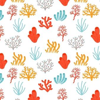 Disegno del modello di corallo