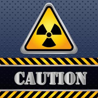Disegno del segnale di avvertimento