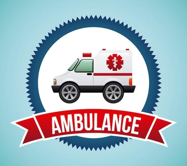 Disegno dell'ambulanza