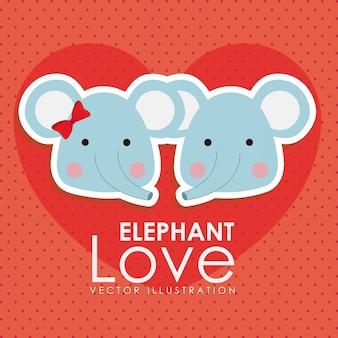 Disegno dell'elefante