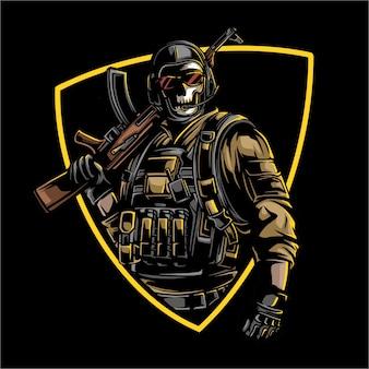 Disegno dell'esercito