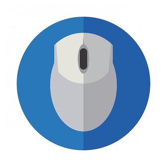 Disegno dell'icona del mouse