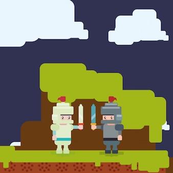 Disegno dell'icona del videogioco