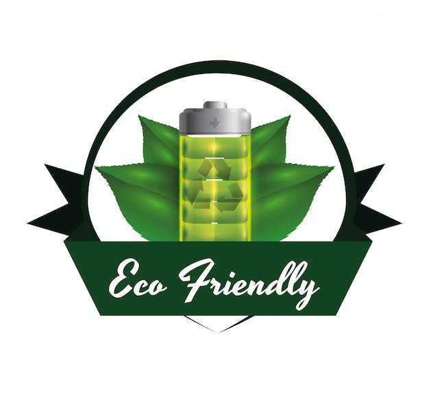 Disegno dell'icona di ecologia