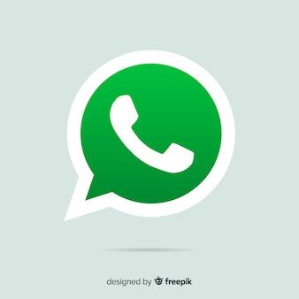 Disegno dell'icona whatsapp
