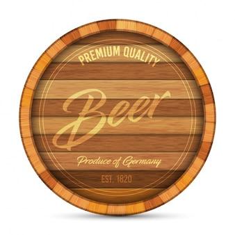 Disegno della birra logo