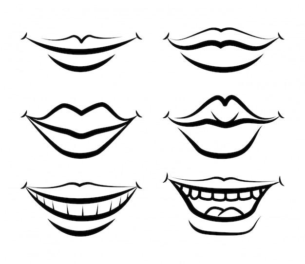 Disegno della bocca