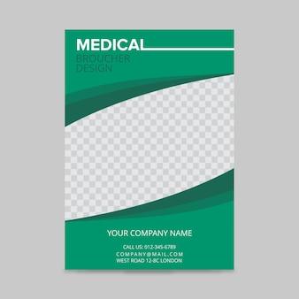 Disegno della brochure medica