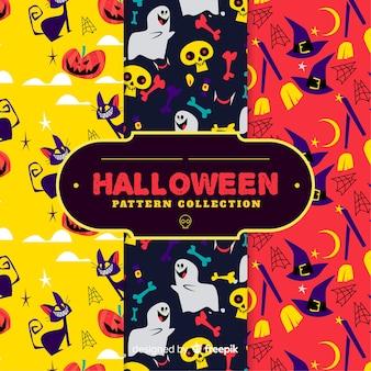 Disegno della priorità bassa del reticolo di halloween