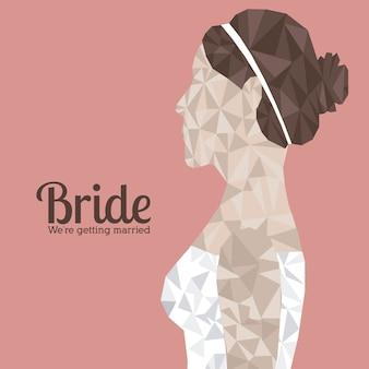 Disegno della sposa