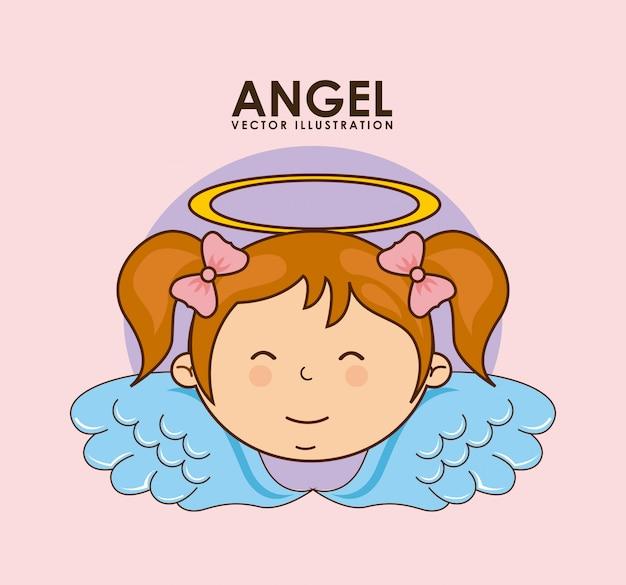 Disegno di angelo