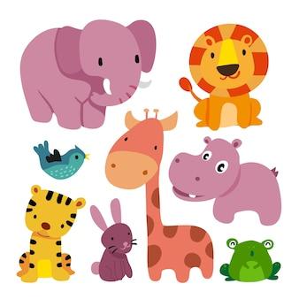 Disegno di caratteri degli animali