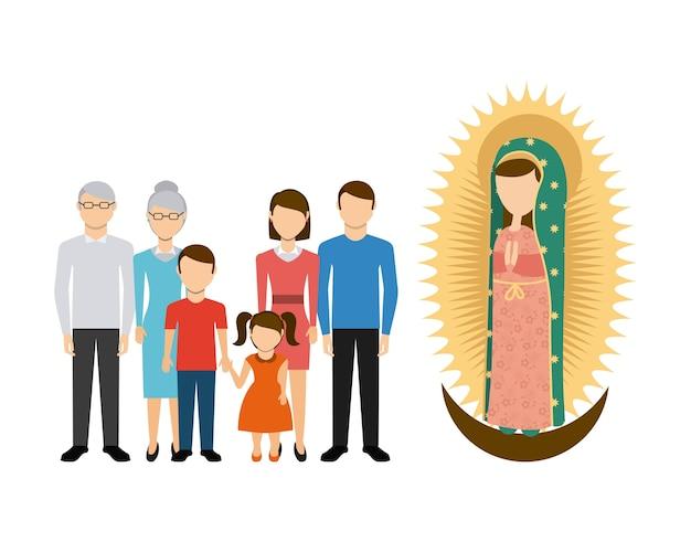 Disegno di dio e famiglia