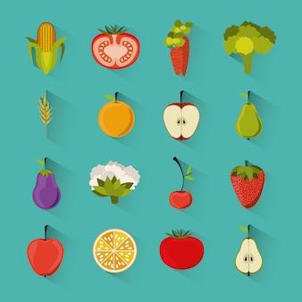 Disegno di generi alimentari