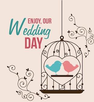 Disegno di nozze