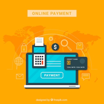 Disegno di pagamento online