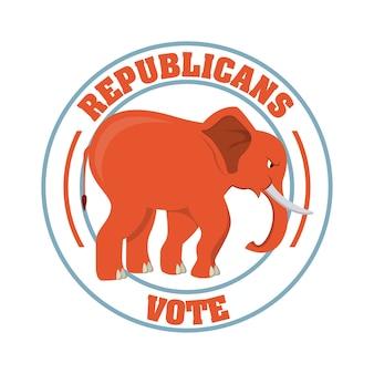 Disegno di partito repubblicano