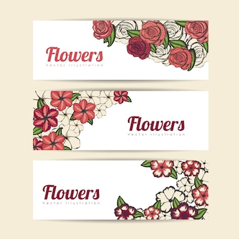 Disegno di rose e fiori