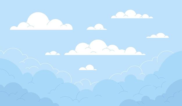 Disegno di sfondo del cielo