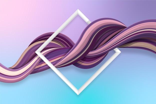 Disegno di sfondo del flusso di colore
