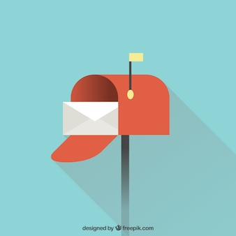 Disegno di sfondo della cassetta postale