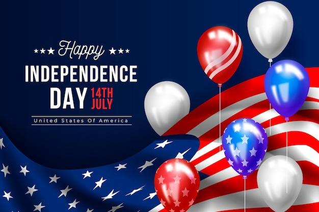 Disegno di sfondo festa dell'indipendenza