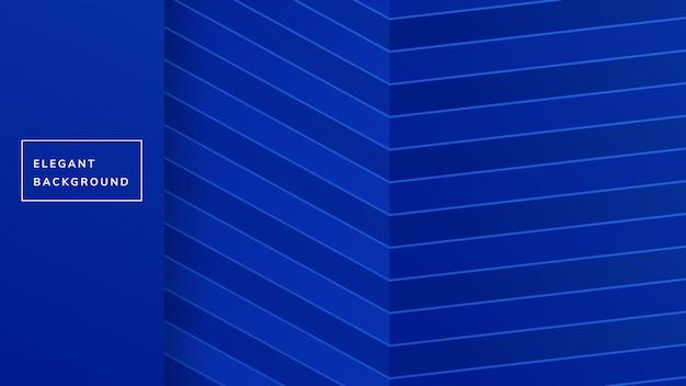 Disegno di sfondo linea blu