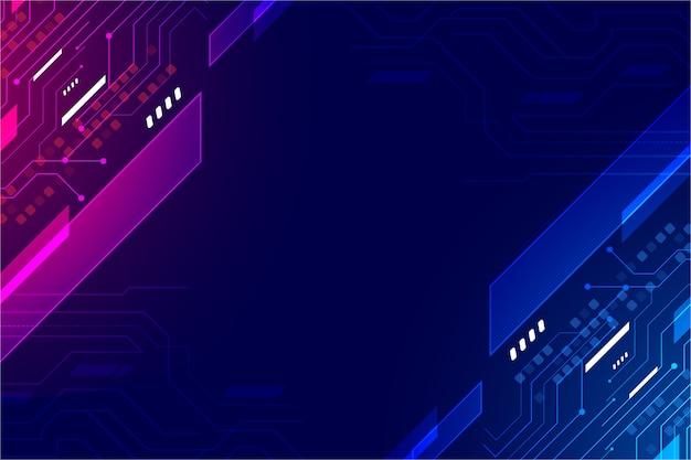 Disegno di sfondo tecnologico