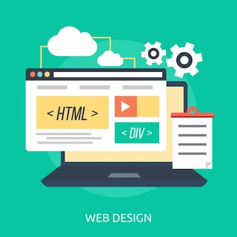 Disegno di sfondo web