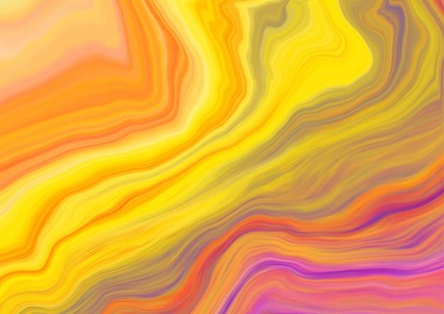 Disegno di struttura di marmo liquido