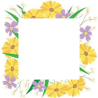 Disegno floreale di sfondo
