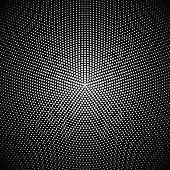 Disegno geometrico astratto del fondo del punto circolare