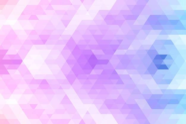 Disegno geometrico colorato astratto
