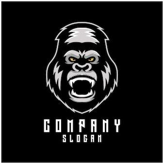 Disegno logo gorilla