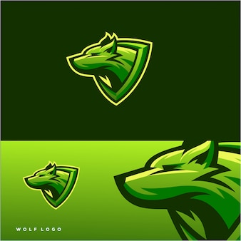 Disegno logo wolf