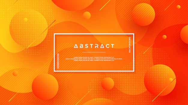 Disegno strutturato arancione della priorità bassa nello stile 3d.