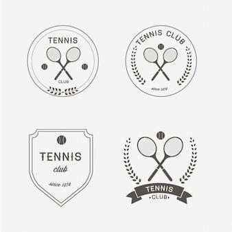 Disegno tennis logo