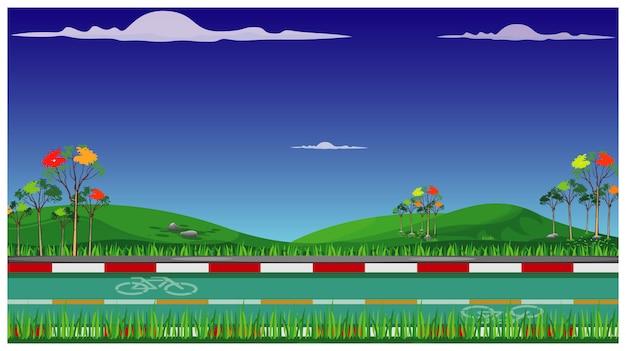 Disegno vettoriale di bici modo