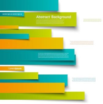 Disegno vettoriale. scheda brochure linee astratte