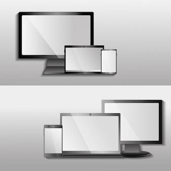 Dispositivi digitali tecnologie moderne apparecchiature elettroniche