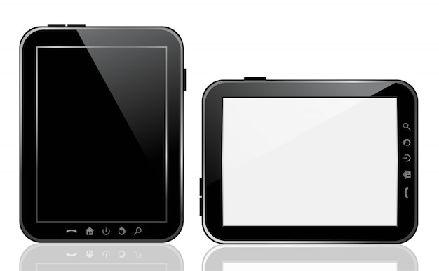 Dispositivo tablet vettoriale.