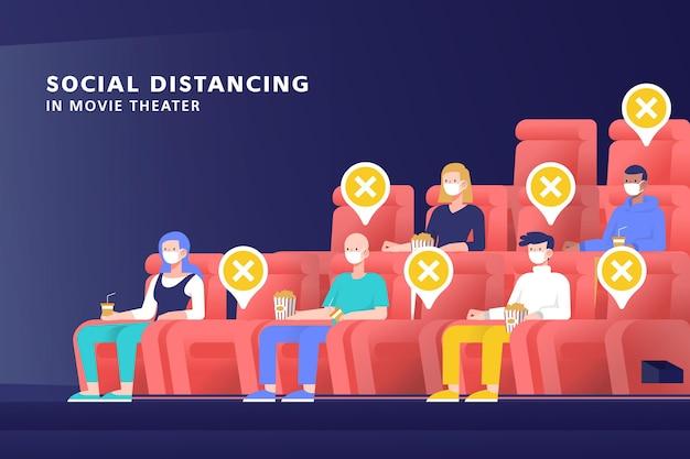 Distanziamento sociale nel cinema